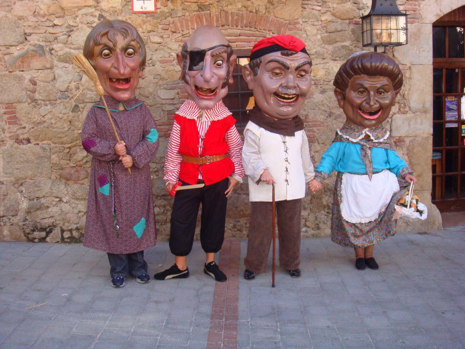 Els quatre capgrossos de Palamós