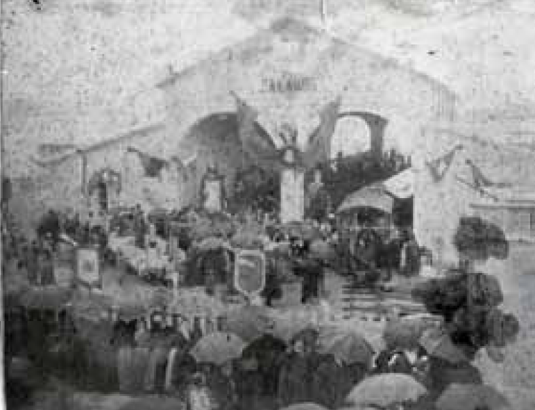 Innauguració del Tren Petit a Palamós